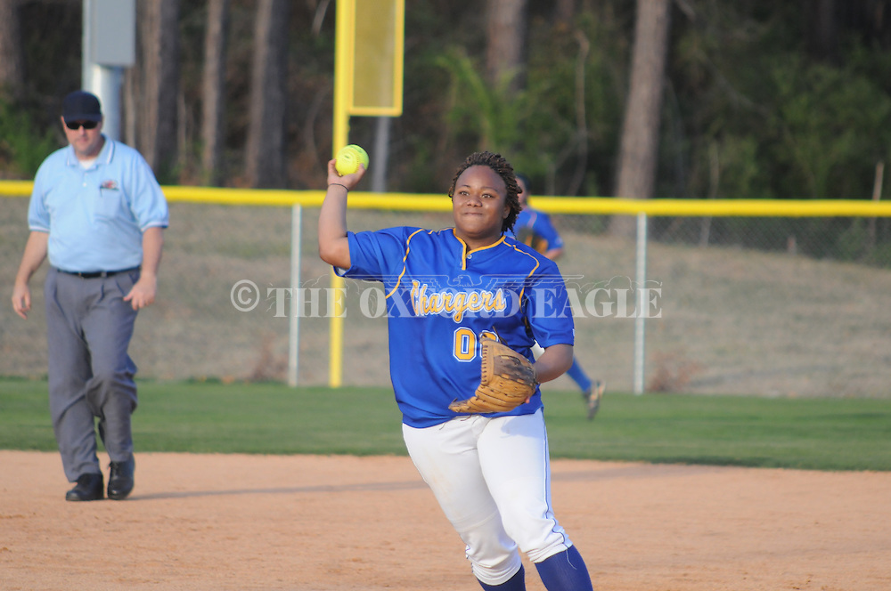 Oxford High vs. Hernando in girls' high school softball action in Oxford, Miss. on Tuesday, March 22, 2011. Hernando won 8-1.