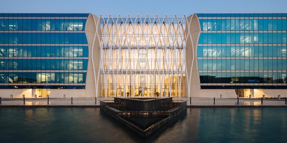 DAR Smart Village Headquarters | Client: Dar Al Handasah | Designer: Perkins+Will