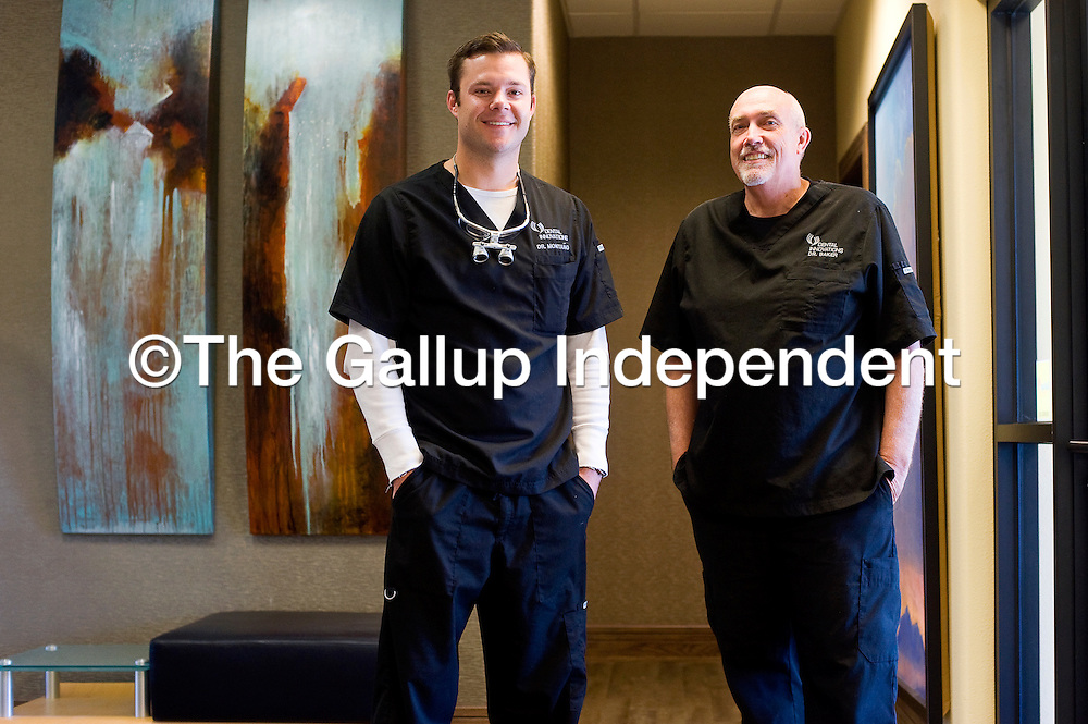 110112       Brian Leddy<br /> Dr. Jared Montano and Dr. Richard Baker have opened the newest dental clinic in town. Dental Innovations is located in downtown Gallup.
