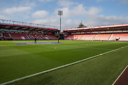 The pitch ahead of the Premier League match between Bournemouth and Arsenal at the Vitality Stadium, Bournemouth, England on 25 November 2018.
