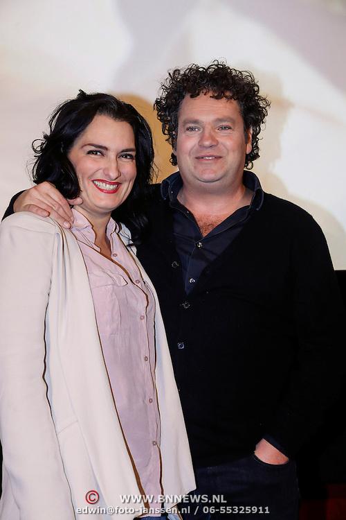 NLD/Amsterdam/20121210 - Persviewing Divorce, Carly Wijs, Dirk Zeelenberg,