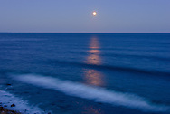 Moon, View from Camp Hero, Atlantic Coasr,  Montauk, NY
