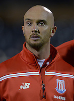 Stoke City's Stephen Ireland during the Capital One Cup, third round match at Craven Cottage, London.