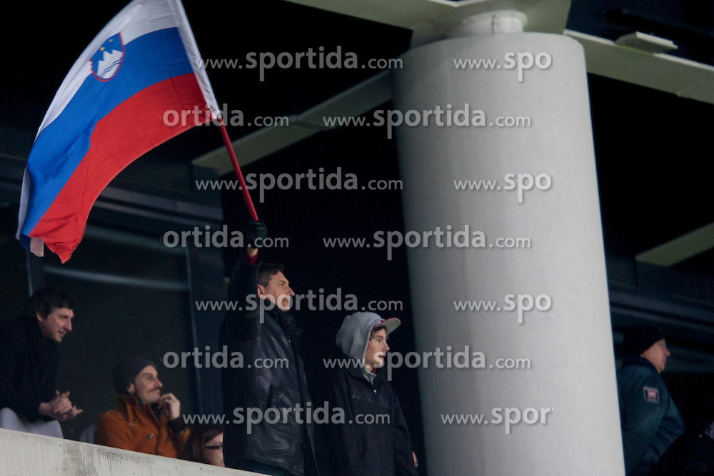 Borut Pahor during football match between National teams of Slovenia and Iceland in Group E of FIFA World Cup 2014 Qualification on October 12, 2012 in SRC Stozice, Ljubljana, Slovenia. (Photo By Urban Urbanc / Sportida)