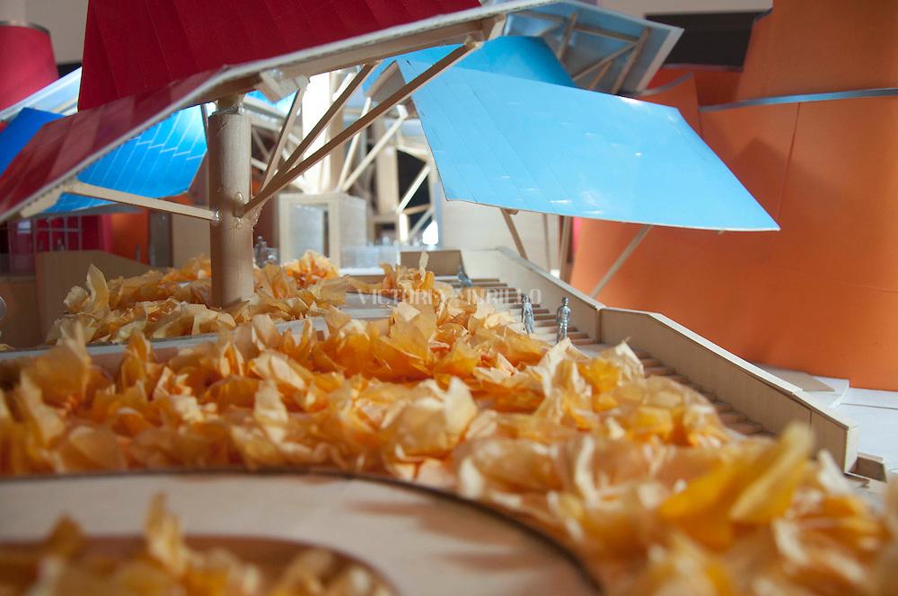 Biomuseo. Museo de la Biodiversidad-puente de vida.<br /> Primer edificio dise&ntilde;ado para Latinoam&eacute;rica por el Arquitecto Frank Gehry.<br /> Maquetas del edificio.<br /> &copy;Victoria Murillo/Istmophoto.com
