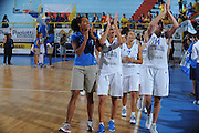 DESCRIZIONE : Cagliari Qualificazioni Europei 2011 Italia Olanda<br /> GIOCATORE : Team Nazionale Italiana Donne<br /> SQUADRA : Nazionale Italia Donne<br /> EVENTO : Qualificazioni Europei 2011<br /> GARA : Italia Olanda<br /> DATA : 29/08/2010 <br /> CATEGORIA : <br /> SPORT : Pallacanestro <br /> AUTORE : Agenzia Ciamillo-Castoria/GiulioCiamillo<br /> Galleria : Fip Nazionali 2010 <br /> Fotonotizia : Cagliari Qualificazioni Europei 2011 Italia Olanda<br /> Predefinita :