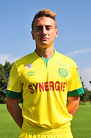 Valentin RONGIER - 15.09.2014 - Photo officielle Nantes - Ligue 1 2014/2015<br /> Photo : Philippe Le Brech / Icon Sport