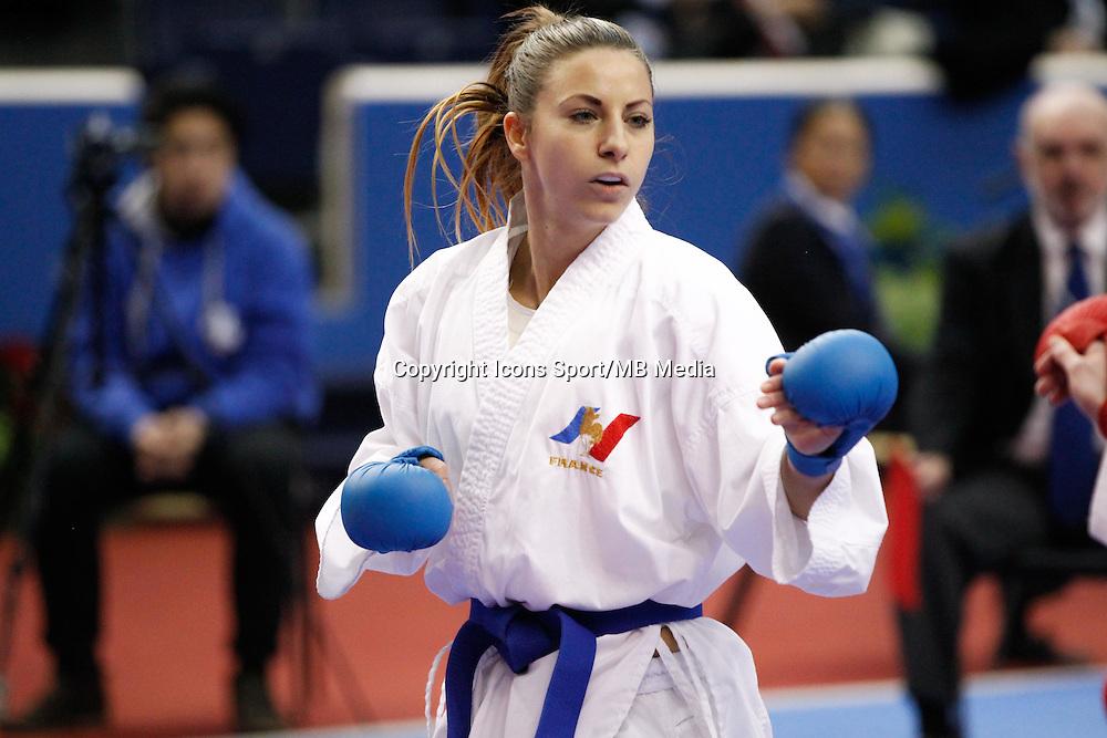 Alexandra RECCHIA - 24.01.2015 - Open de Paris - Karate Premier League -<br />Photo : Johnny Fidelin / Icon Sport