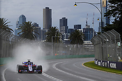 March 24, 2018 - Melbourne, Victoria, Australia - HARTLEY Brendon (nzl), Scuderia Toro Rosso Honda STR13, action during 2018 Formula 1 championship at Melbourne, Australian Grand Prix, from March 22 To 25 - s: FIA Formula One World Championship 2018, Melbourne, Victoria : Motorsports: Formula 1 2018 Rolex  Australian Grand Prix, (Credit Image: © Hoch Zwei via ZUMA Wire)