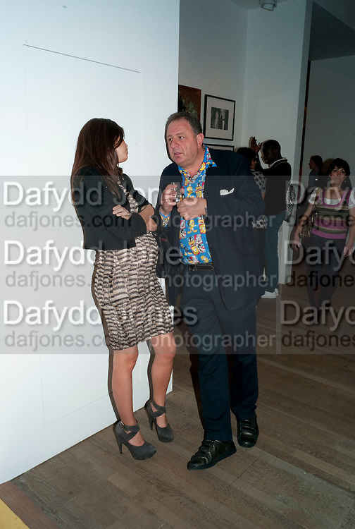 DASHA ZHUKOVA; JOHNNY PIGOZZI, Pop Life in a Material World. Tate Modern. London. 29 September 2009.