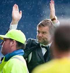 Steven Pressley, Falkirk manager at the end..Falkirk 3 v 0 Stirling Albion, Ramsdens Cup..© Michael Schofield.