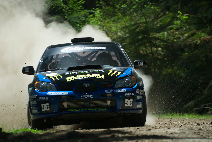 Day three of the Oregon Trail Rally was about forty five minutes West of Portland in heavily treed stages.