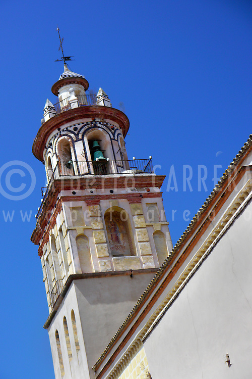 Alberto Carrera, Church of Nuestra Señora de la O,  Sanlucar de Barameda, Costa de la Luz, Cádiz Province, Andalusia, Spain, Europe