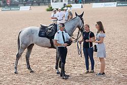 De Luca Lorenzo, ITA, Irenice Horta<br /> World Equestrian Games - Tryon 2018<br /> © Hippo Foto - Sharon Vandeput<br /> 23/09/2018