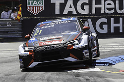 June 23, 2018 - Vila Real, Vila Real, Portugal - Aurelien Panis from France in Audi RS 3 LMS of Comtoyou Racing in action during the Race 1 of FIA WTCR 2018 World Touring Car Cup Race of Portugal, Vila Real, June 23, 2018. (Credit Image: © Dpi/NurPhoto via ZUMA Press)