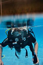 MCH: Ferie for alle 2012DK caption:.Herning, Danmark, 20120224: MCH Messe - Ferie for alle. Dykning.Foto: Lars Møller.UK Caption:.Herning, Denmark, 20120224: MCH Fair - Ferie for alle. Scubadiving.Photo: Lars Moeller