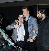 13.DECEMBER.2011. LONDON<br /> <br /> JACK WILSHERE AND WOJCIECH SZCZESNY AT THE ARSENAL CHRISTMAS PARTY AT THE HILTON PARK LANE FOR DINNER AND ALONG WITH THE ARSENAL TEAMMATES LATER WENT ON TO THE WHISKY MIST NIGHTCLUB WHERE THEY PARTIED TILL 3AM IN LONDON.<br /> <br /> BYLINE: EDBIMAGEARCHIVE.COM<br /> <br /> *THIS IMAGE IS STRICTLY FOR UK NEWSPAPERS AND MAGAZINES ONLY*<br /> *FOR WORLD WIDE SALES AND WEB USE PLEASE CONTACT EDBIMAGEARCHIVE - 0208 954 5968*