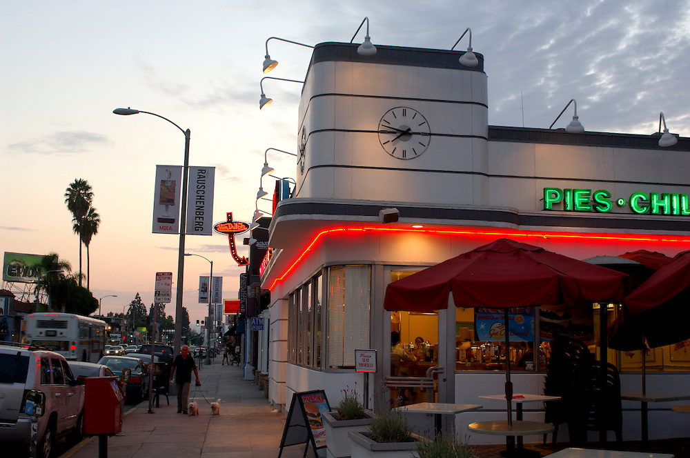 Jonny Rocket Restaurant, Melrose Avenue, Hollywood, Los Angeles, California, United States of America