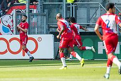 24-09-2017 NED: FC Utrecht - PSV, Utrecht<br /> Zakaria Labyad #10 of FC Utrecht scoort de 1-1 uit een penalty