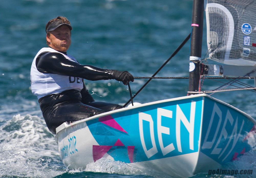 Finn DENHoegh-Christensen Jonas<br /> <br /> 2012 Olympic Games <br /> London / Weymouth