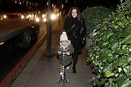 UK. London. A day in the life of single Mum Paloma Sanchez and her 3-year old son Oliver. Amaya Roman/Workers Photos