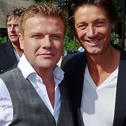 NLD/Amsterdam/20110608 - Boekpresentatie Bastiaan Ragas, Bastiaan Ragas en Rick Engelkes