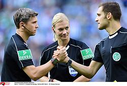 Referee Bibiana Steinhaus<br /> Berlin, 10.09.2017, Fussball Bundesliga<br /> Hertha BSC Berlin v SV Werder Bremen
