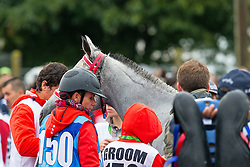 Barbara Lissarrague, (SUI), Preume De Paute - Endurance - Alltech FEI World Equestrian Games™ 2014 - Normandy, France.<br /> © Hippo Foto Team - Leanjo de Koster<br /> 25/06/14