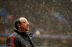 BIRMINGHAM, ENGLAND - Tuesday, December 29, 2009: Liverpool's manager Rafael Benitez during the Premiership match against Aston Villa at Villa Park. (Photo by: David Rawcliffe/Propaganda)
