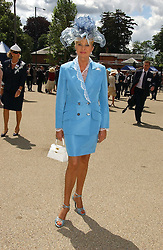 IVANA TRUMP  at the 3rd day - Ladies Day of Roayl Ascot 2006 on 22nd June 2006.<br />