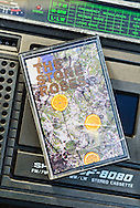 The Stone Roses debut album 'The Stone Roses' on Audio Cassette, released March 1989 on Silvertone Record.