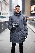 Street fashion photographer Alberto Luna