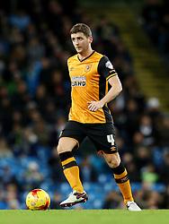 Alex Bruce of Hull City  - Mandatory byline: Matt McNulty/JMP - 01/12/2015 - Football - Etihad Stadium - Manchester, England - Manchester City v Hull City - Capital One Cup - Quarter-final