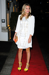 Caggie Dunlop arrives at the Daily Mail Inspirational Woman of The Year Awards, London, Wednesday January 18, 2012. Photo By i-Images