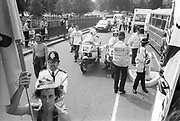 Traffic Cops at the 2nd Criminal Justice March,Park Lane, London, UK, 23rd of July 1994.