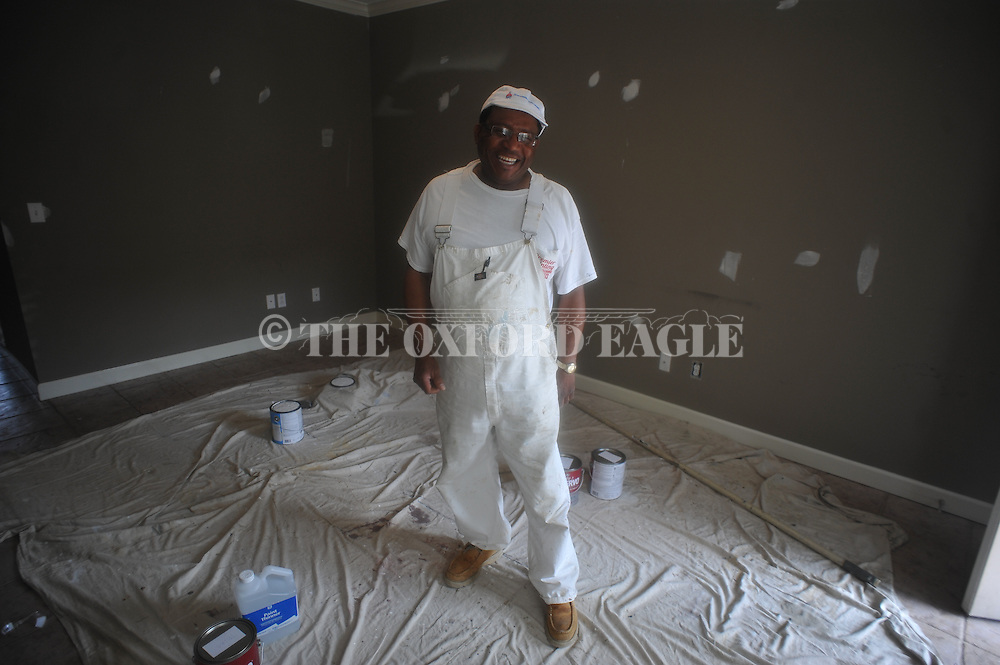 Willie Williams is a painter, in Oxford, Miss. on Tuesday, April 16, 2013.