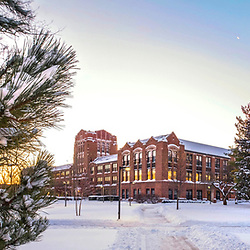 Winter Campus Scenics