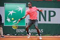 Mikael YMER  - 01.06.2015 - Jour 9 - Juniors - Roland Garros 2015<br />Photo : Nolwenn Le Gouic / Icon Sport