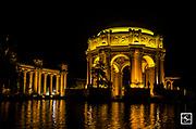 Palace of Fine Arts San Francisco - Night