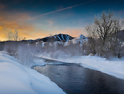 Big Wood River, near Sun Valley, Idaho