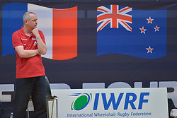 France V NZL at the 2016 IWRF Rio Qualifiers, Paris, France