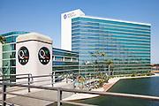 Hyatt Regency and WQ Bay in Long Beach at Rainbow Lagoon