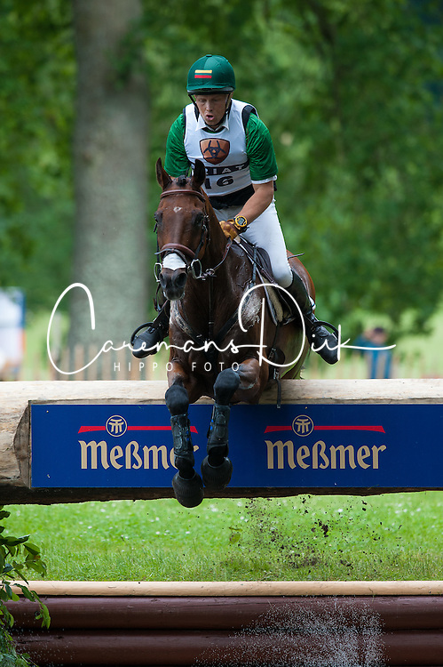 Aistis Vitkauskas (LTU) - AK's Galopper Cross Country - CCI4* Luhm&uuml;hlen 2012<br /> &copy; Hippo Foto - Jon Stroud