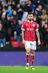 Marlon Pack of Bristol City cuts a dejected figure - Mandatory by-line: Dougie Allward/JMP - 21/10/2017 - FOOTBALL - Ashton Gate Stadium - Bristol, England - Bristol City v Leeds United - Sky Bet Championship