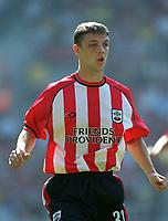 Chris Baird (Southampton) Southampton v Parma, Pre-Season Friendly, 9/08/2003. Credit: Colorsport / Matthew Impey