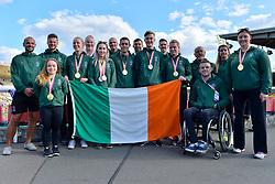 Paralympics Ireland Athletics Team at the Berlin 2018 World Para Athletics European Championships