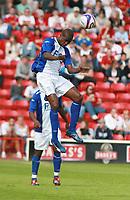 Photo: Mark Stephenson.<br /> Walsall v Birmingham City. Pre Season Friendly. 28/07/2007.Birmingham's new signing Olivier Kapo