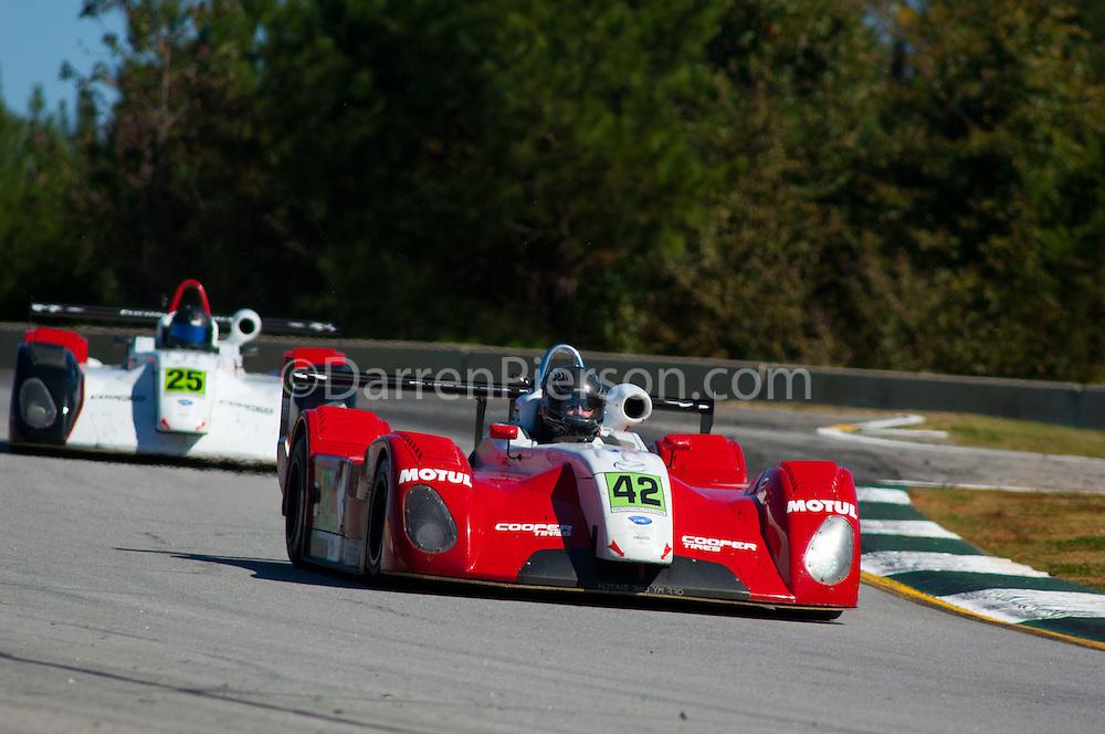 #42 Eurosport Racing Cooper Tires Prototype Lite: Jim Garrett