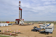 Statoil, the Norwegian state oil giant runs this drilling rig some 5 miles south east of Williston. Statoil, Norway&rsquo;s biggest oil company, bought Brigham Exploration Co. for about $4.4 billion in cash, expanding in unconventional U.S. assets because of declining North Sea production.<br /> <br /> North Dakota oil boom. Based around the town of Williston, hydraulic fracturing, also known as 'fracking' has enabled a vast reserve of previously unobtainable oil to be accessed.