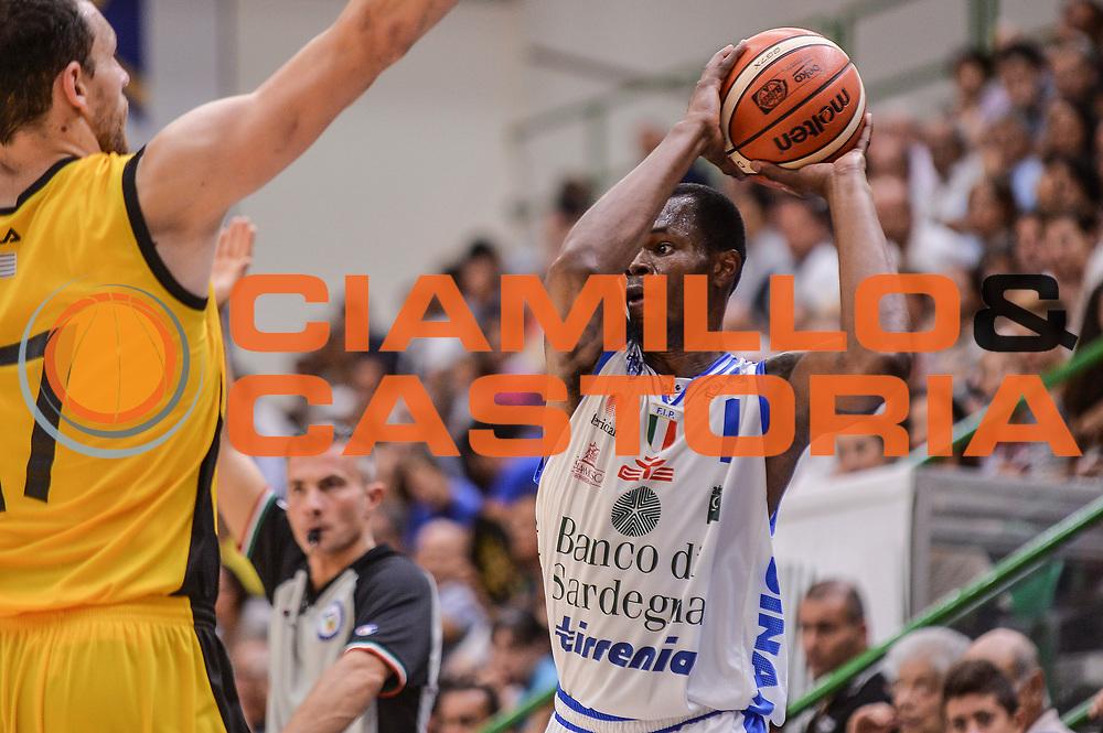 DESCRIZIONE : Torneo Citt&agrave; di Sassari &quot;Mim&igrave; Anselmi&quot; Dinamo Banco di Sardegna Sassari - AEK Atene<br /> GIOCATORE : Brenton Petway<br /> CATEGORIA : Passaggio<br /> SQUADRA : Dinamo Banco di Sardegna Sassari<br /> EVENTO :  Torneo Citt&agrave; di Sassari &quot;Mim&igrave; Anselmi&quot; <br /> GARA : Dinamo Banco di Sardegna Sassari - AEK Atene Torneo Citt&agrave; di Sassari &quot;Mim&igrave; Anselmi&quot;<br /> DATA : 12/09/2015<br /> SPORT : Pallacanestro <br /> AUTORE : Agenzia Ciamillo-Castoria/L.Canu
